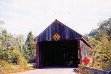 Thetford Center Bridge. Photo by Liz Keating, September 22, 2005