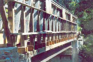 Union Village Bridge Photo by N. David Charkes September 2004