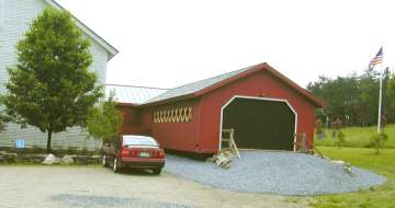 Vermont Covered Bridge Museum. Photo by Joe Nelson, 6-14-03