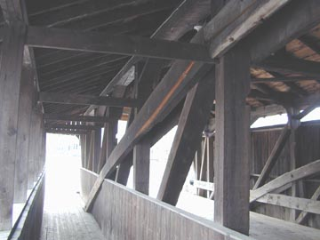 Village Bridge. Photo by Joe Nelson, November 19, 2001
