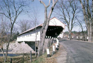 Joel Eastman or Redstone Bridge<br>Conway, NH WGN [29-02-04X], Photo by Dick Cull 1950'